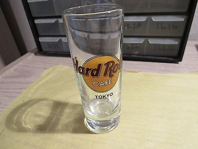 Hard rock cafe Tokyo Shot Glass,very nice,4 inches, free shipping.