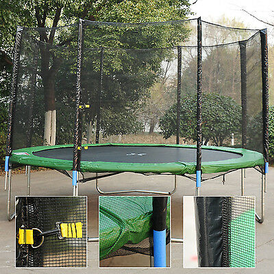 14' Round Trampoline Enclosure Bounce Safety Net Frence Replacement