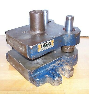Danly  2 Post Die Set  0505 D-1  Punch Press Blank Tooling
