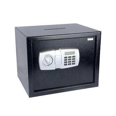 Serene-Life SLSFE348 Electronic Safe Box with Mechanical Override, Includes Keys