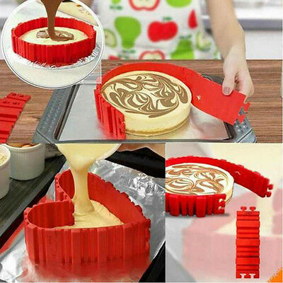 4* Silicone Cake Mold Magic Bakes Snakes Create Chape Nonstick Tray Baking Mould