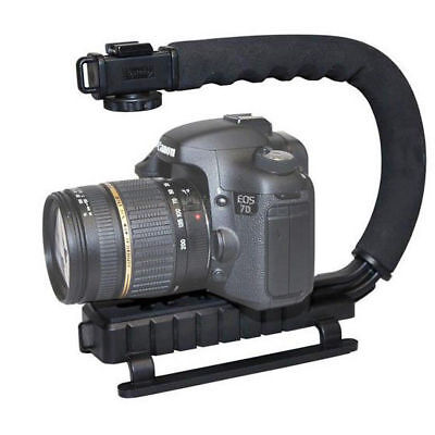Stabilizer C-Shape Bracket Video Handheld Grip Mount Camcorder Camera Video DSLR