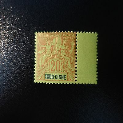 France Colonie Indochine N°9 Neuf ** Luxe Gomme D'origine Mnh