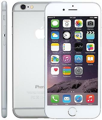 Apple iPhone 6 16GB Silver Unlocked Grade A+ Retail Boxed 12 Months Warranty