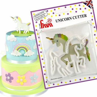 Genuine FMM Sugarpaste - Unicorn Cutter - Cake decoration fondant cookie cutter