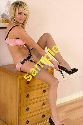d FASHION MODEL 6 Hot sexyFOTOS 10 x 15 cm Collector Stocking Lingerie(#646-651)