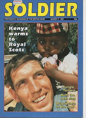 Soldier Magazine of the British Army. March 1997 Royal Scots in Africa