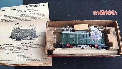 Märklin H0: RSM 800, E-Lok, Version 1 von 1950, TOP