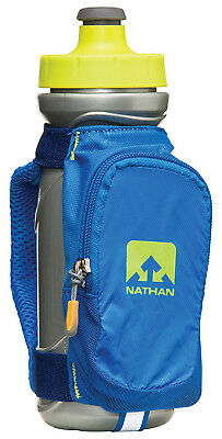 Nathan Quickdraw Plus Handheld Hydration Bottle - Blue