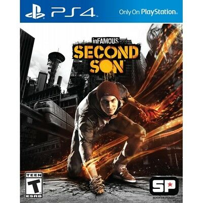 inFamous Second Son PS4 Game - Brand New!