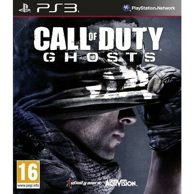 Call Of Duty Ghosts Game PS3 - Brand New!