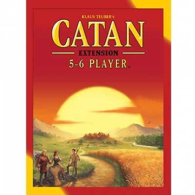 Settlers of Catan 5-6 Player Extension 2015 Refresh - Brand New!