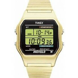 Timex T78677 Mens Style Watch Gold - Brand New!