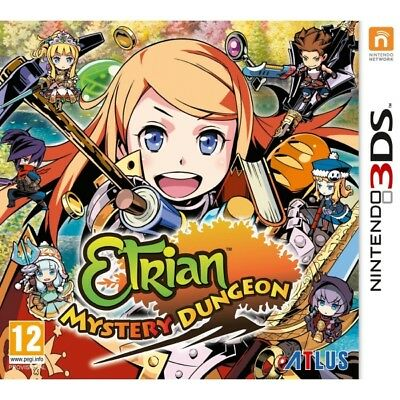 Etrian Mystery Dungeon 3DS Game - Brand New!