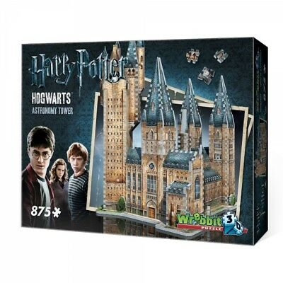 Harry Potter Hogwarts Astronomy Tower 3D Jigsaw 850 Pieces - Brand New!
