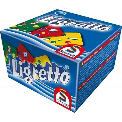Schmidt Ligretto Blue Edition Card Game - Brand New!