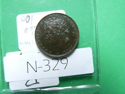 Vintagegreat Britain  1830  Farthing  High Quality Value 100.00  N329