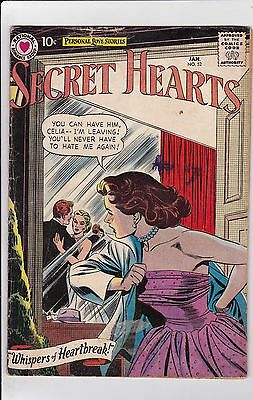 Secret Hearts #52 GD 2.0 1959 Arleigh Pub See My Store