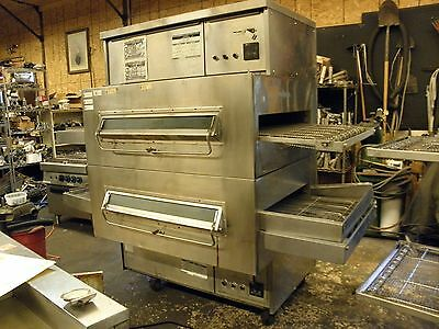 """Middleby Marshall Ps360S Nat Gas Double Stack 32"""" Pizza Sandwich Conveyor Oven"""
