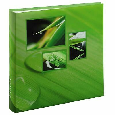 """Large Green Leaf Grass Nature Photo Album Case Book 100 Pages for 6 x 4 """" Photos"""