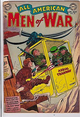 All American Men Of War #10 G/VG 3.0 1954 DC See My Store
