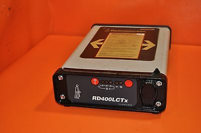 Radiodetection RD400LCTx Pipe Cable Locator Transmitter RADIO DETECTION RD400