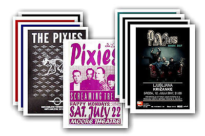 PIXIES - 10 promotional posters - collectable postcard set # 1