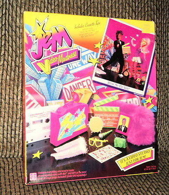 1986 Jem Video Madness Show Me The Way Video Studio Nrfb!