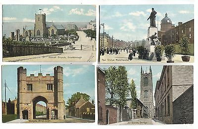 40 old postcards published by Shurey's Publications or Christian Novels Co