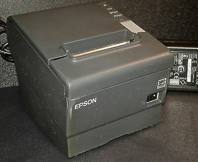 Epson TM-T88V M244A POS Thermal Receipt Printer w/ Ethernet Interface
