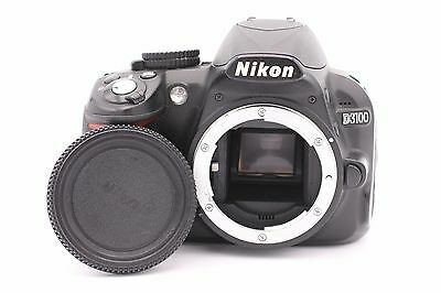 Nikon D D3100 14.2MP Digital SLR Camera - Black (Body Only) - Shutter Count:1280