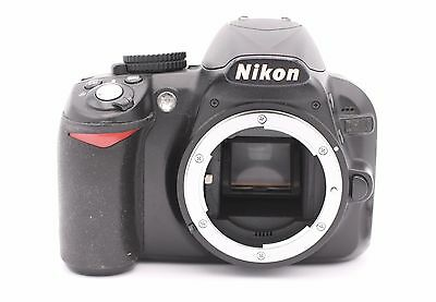 Nikon D D3100 14.2MP Digital SLR Camera - Black (Body Only) - Shutter Count:1465