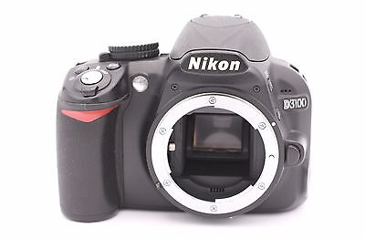 Nikon D D3100 14.2MP Digital SLR Camera - Black (Body Only) - Shutter Count:1020