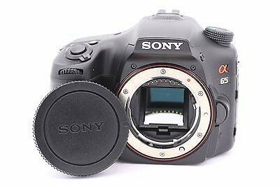 Sony Alpha SLT-A65 24.3MP Digital SLR Camera - Black (Body Only)
