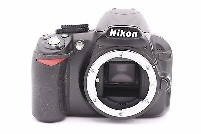Nikon D D3100 14.2MP Digital SLR Camera - Black (Body Only) - Shutter Count:1870