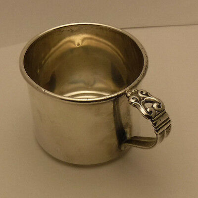 ROYAL DANISH by INTERNATIONAL sterling silver CHILDS BABY CUP no monogram