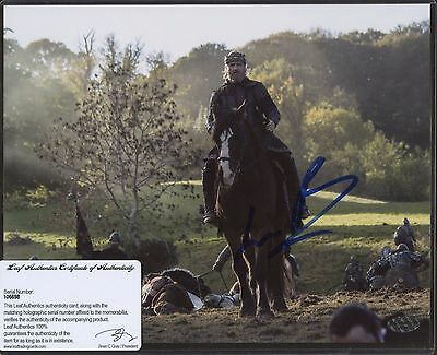Linus Roache Signed 8x10 Photo Leaf COA AUTO Autograph
