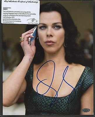 Debi Mazar Signed 8x10 Photo Leaf COA AUTO Autograph