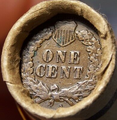 S Tail Indian/1883 Indian Ends Mixed Old Roll Wheat/indian Estate Cents #816