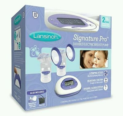 Lansinoh Double Electric Breast Pump, BPA-free BRAND NEW SEALED BABY FEEDING