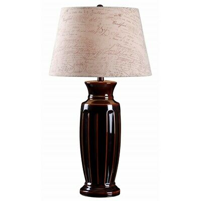Kenroy Home Marielle Table Lamp, Bronze Ceramic - 32445BZC