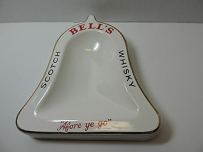 Bell's Scotch Whisky  Bell Shaped Ashtray
