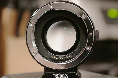 Metabones Speed Booster Ultra 0.71x Adapter for Canon Lens to Sony E Mount