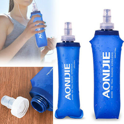 AONIJIE Folding Water Bottle Outdoor Sport TPU Water Hydration Soft Running Bag