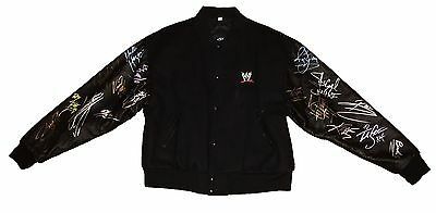 Wwe Wrestlemania 19 Signed Jacket Autographed By 17 Of The Biggest Names Ever