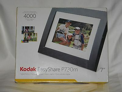 "Kodak Easyshare Digital Led 7"" Picture Frame Model P730M 4000 Pictures New"