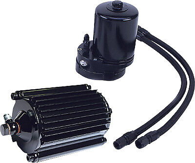 Feuling 2005 Oil Filter Cooler Black