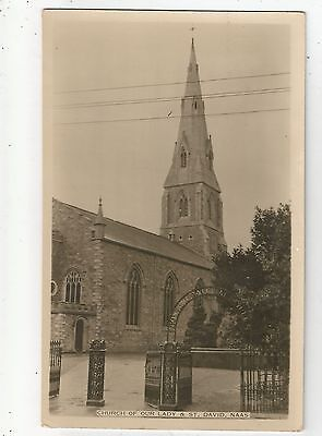 m irish postcard ireland kildare st davids church naas