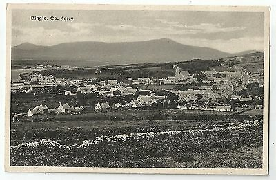 m irish postcard ireland kerry dingle town