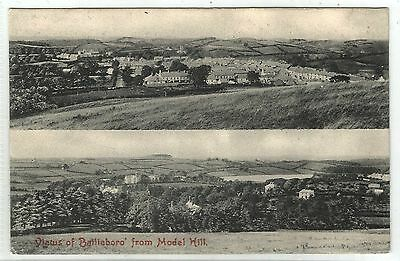 m irish postcard ireland cavan bailleboro from model hill